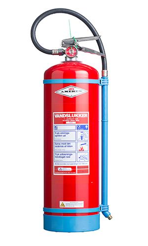 WaterMist rød brandslukker