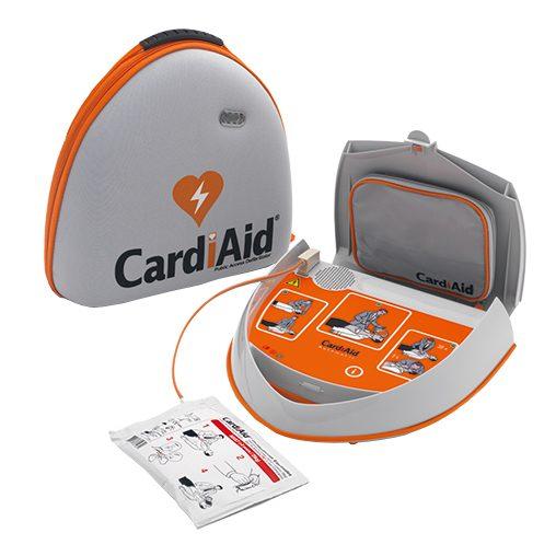 CardiAid hjertestarter åben