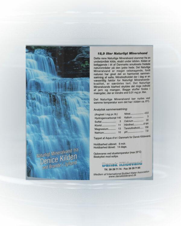 Dunke med 18,9 liter Naturligt Mineralvand