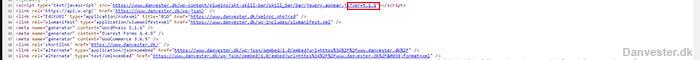 Fjern query strings fra statiske ressourcer
