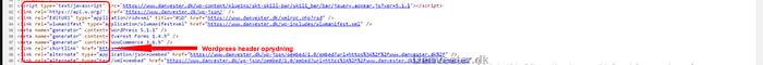 Wordpress SEO optimering