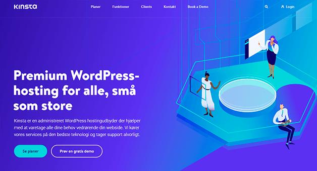bedste wordpress hosting