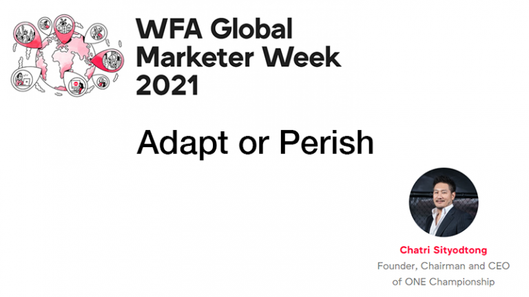 Read more about the article GMW21 – Adapt or Perish