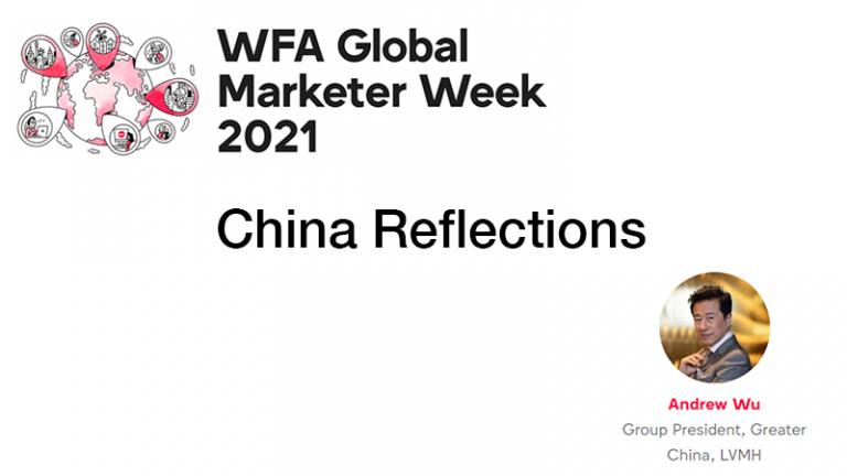 GMW21 – China Reflections