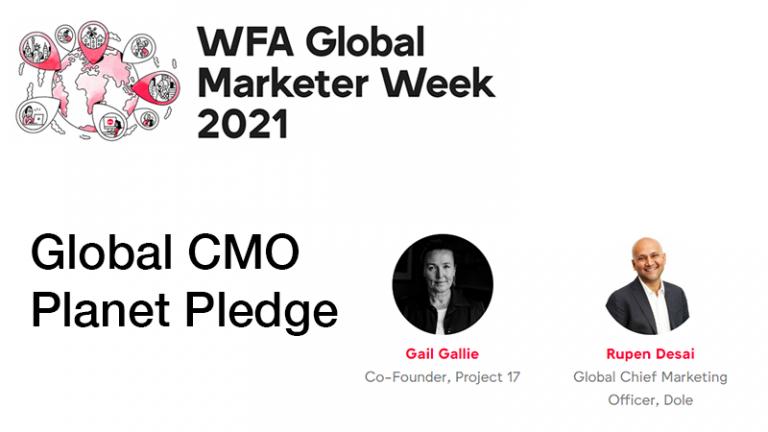 GMW21 – Global CMO Planet Pledge