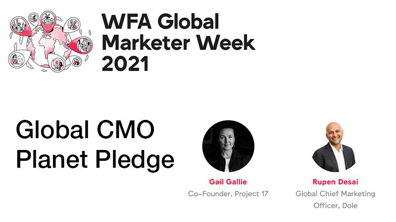 GMW21 Global CMO Planet Pledge