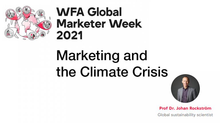 Read more about the article GMW21 – Marketing and the Climate Crisis