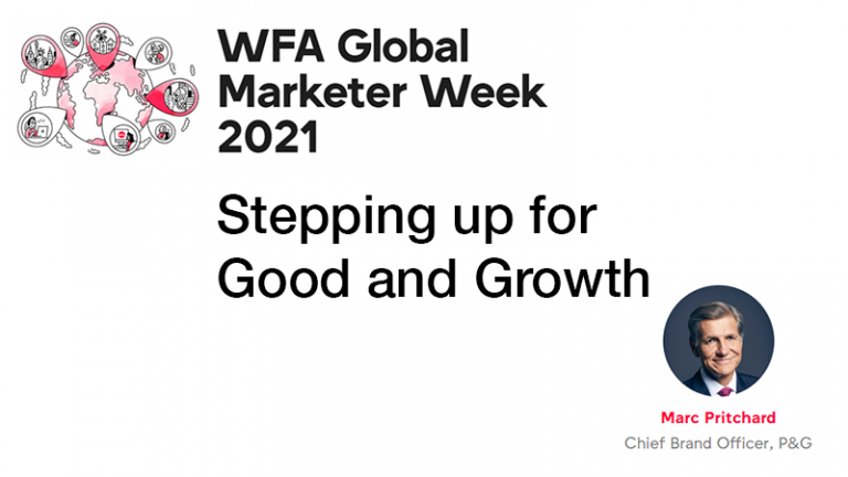 GMW21 – Stepping up for Good and Growth