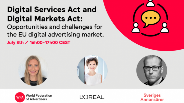 Webinar: DSA and DMA – opportunities and challenges for the advertising market