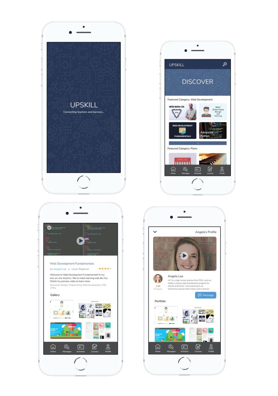 UpSkill Mobile app – Case Study