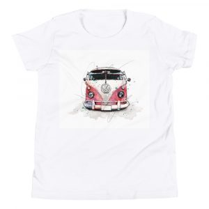 Volkswagen Type 2 – Bus People, Youth Short Sleeve T-Shirt
