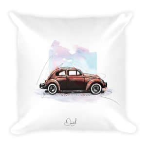 Volkswagen Beetle - Bugged Out, Cushion