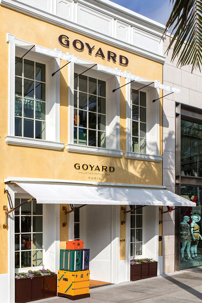 Goyard – Beverly Hills, Los Angeles |  David Thomas Design / Architect
