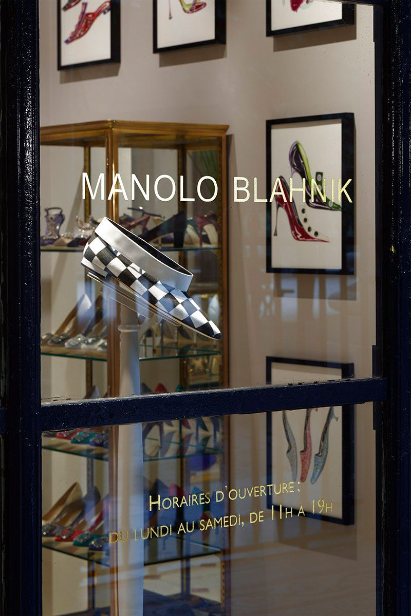 Manolo Blahnik – Palais Royal, Paris |  David Thomas Design / ArchitectManolo Blahnik – Palais Royal, Paris |  David Thomas Design / Architect