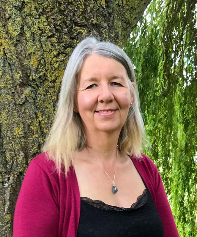 About Dawn , portrait of Dawn Barker