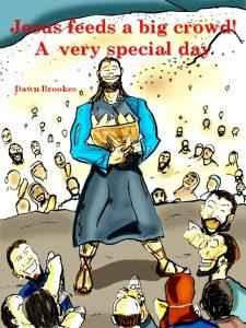 Jesus feeds 5,000 for kids