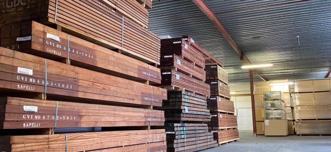 Houten gevelbekleding D&D Wood Houthandel