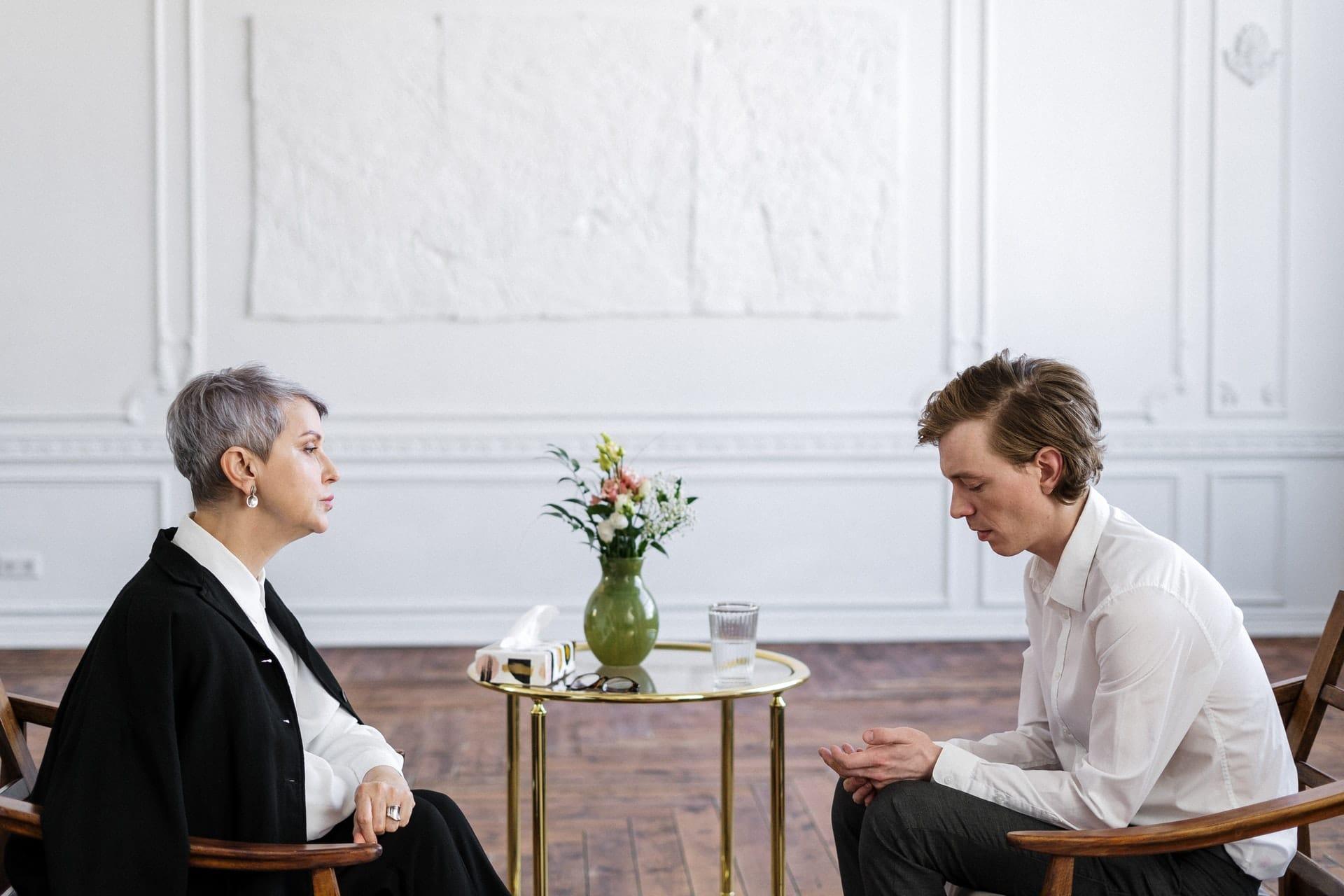 psychiater en client