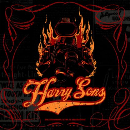 HARRY SONS - Benidorm City is Burning LP