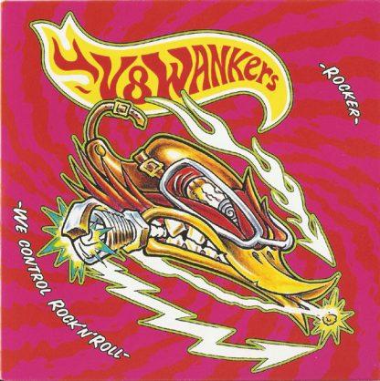 """Dead by Mono V8 Wankers The Carburetors Split 7"""" EP"""