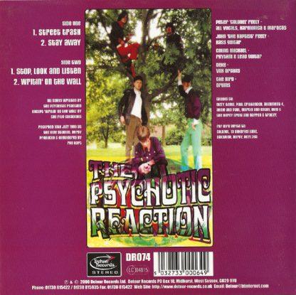 "THE PSYCHOTIC REACTION - Street Trash 7"" back"