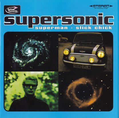 "SUPERSONIC - Superman / Slick Chick 7"""