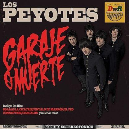 LOS PEYOTES - Garage O Muerte CD