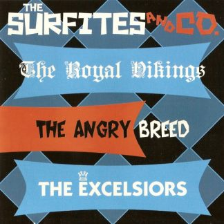 THE SURFITES - The Surfites And Co CD