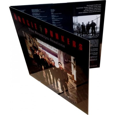 THE BOOGIE PUNKERS - Brooklyn Sessions LP Gatefold