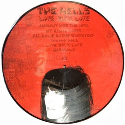 THE HELLS - Love Sick Love LP Picture-Disc Side 1