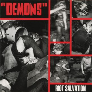 DEMONS - Riot Salvation CD