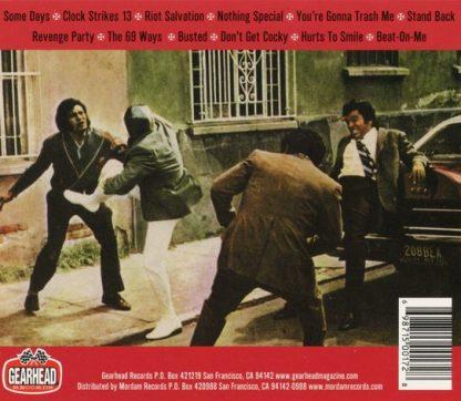 DEMONS - Riot Salvation CD back cover