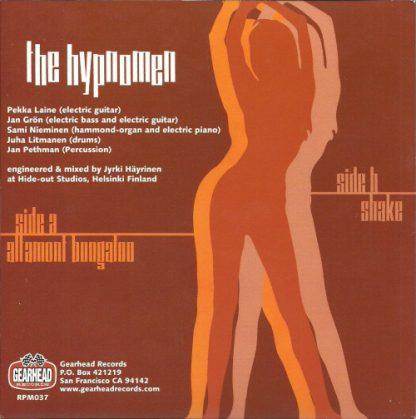 "THE HYPNOMEN - Altamont Boogaloo / Shake 7"" back"