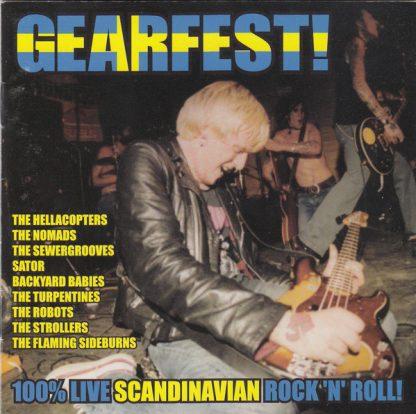VA: GEARFEST - 100% Live Scandinavian Rock'N'Roll CD