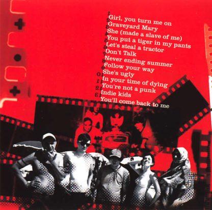 THE TUNAS - Au...GoGo CD back cover