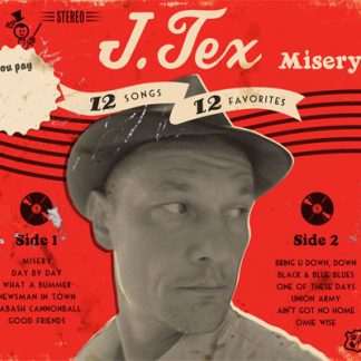 J. TEX - Misery CD