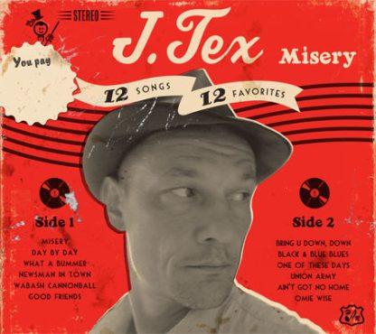 J. TEX - Misery CD