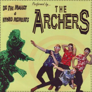 THE ARCHERS / THE HOLLYWOODS - Split 7""
