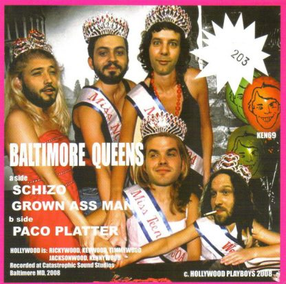 """HOLLYWOOD - Baltimore Queens 7"""" back"""