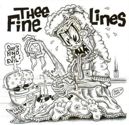 THEE FINE LINES - She's Kind Of Evil 7""