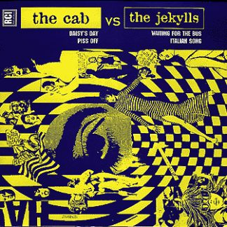 """CAB, THE / JEKYLLS, THE – The Cab Vs The Jekylls 7"""""""