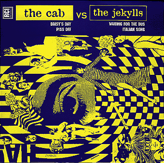 CAB, THE / JEKYLLS, THE ‎– The Cab Vs The Jekylls 7""