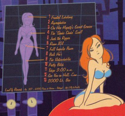 DR. FRANKENSTEIN - The Lost Tapes From Dr. Frankenstein's Lab CD back cover