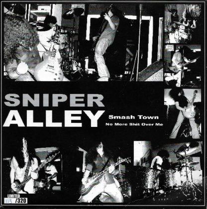"SNIPER ALLEY / ALEX FACE - Split 7"""