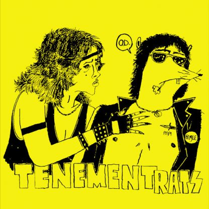 "TENEMENT RATS - Self Titled 7"""