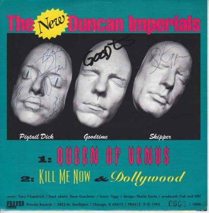 """NEW DUNCAN IMPERIALS, The - Queen Of Venus 7"""" (Pink Vinyl)"""