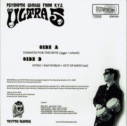 "ULTRA 5, The - Ultra Psychotic Resurrection 7"""