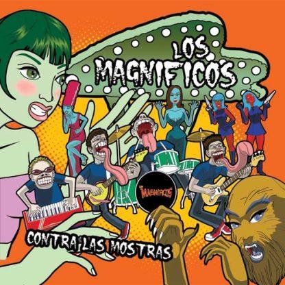 """LOS MAGNIFICOS - Contra Las Mostras 12"""""""