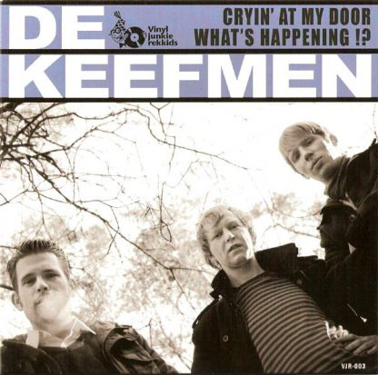 DE KEEFMEN - Cryin' At My Door 7""