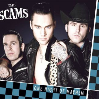 THE SCAMS - One Night Of Mayhem CD